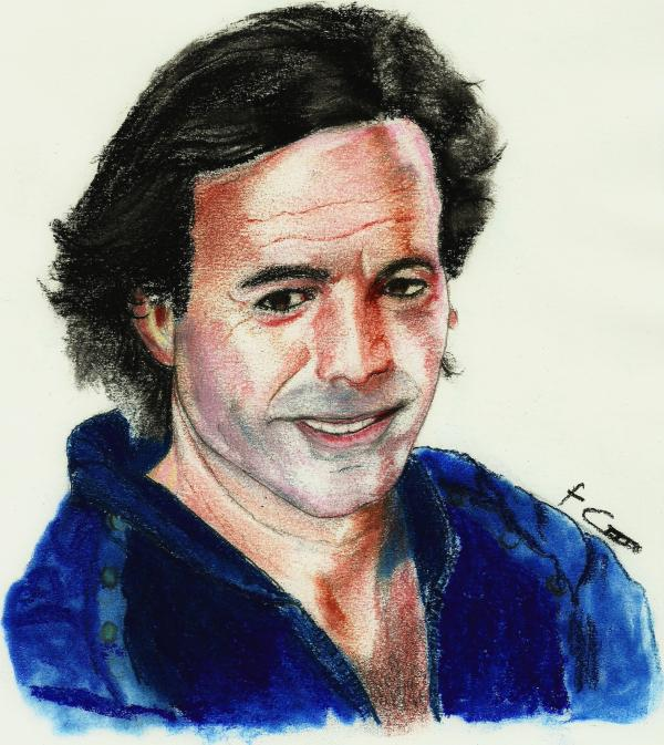 Julio Iglesias by chano